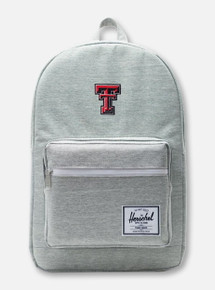 "Herschel Texas Tech Red Raiders ""Pop Quiz"" Light Grey Backpack"