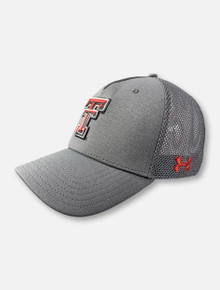 "Under Armour Texas Tech Red Raiders ""Double T Flag"" Trucker Snapback Cap"