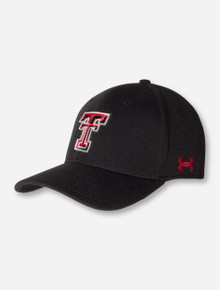 """Under Armour Texas Tech Red Raiders """"Double T"""" Garment Washed Adjustable Cap"""