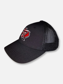"Top of the World Texas Tech Red Raiders ""Ace4"" YOUTH Pride Snapback Cap"