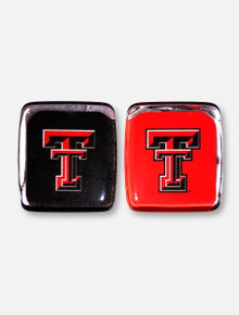 Texas Tech Red Raiders Square Double T Magnet Pack