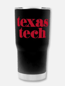 "Texas Tech Red Raiders ""Pristine"" Double Walled 20 oz Travel Tumbler"