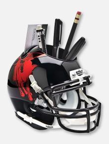 Schutt Texas Tech Red Raiders Metallic Masked Rider Mini Helmet Desk Caddy