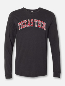 """Texas Tech Red Raiders Classic """"Vintage Seal"""" Arch Long Sleeve T-Shirt"""
