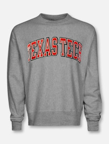 "Champion Texas Tech Red Raiders ""Letter Winner"" Reverse Weave Crew"