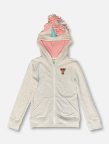 "ZooZatz Texas Tech Red Raiders YOUTH ""Unicorn"" Hooded Jacket"
