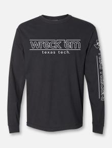 """Texas Tech Red Raiders """"Wreck 'Em Lights"""" Long Sleeve T-Shirt"""