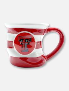 Texas Tech Red Raiders Striped Christmas Mug