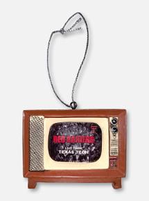 Texas Tech Red Raiders Retro TV Ornament