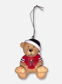 Texas Tech Red Raiders Jersey Bear Ornament