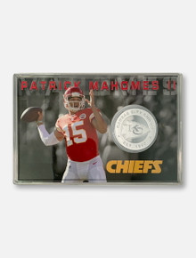 Texas Tech Red Raiders Mahomes Kansas City Chiefs Player Coin Card