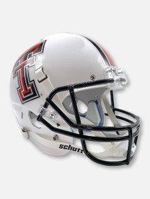 Schutt Texas Tech Red Raiders Double T White Replica Helmet