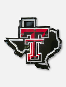 Texas Tech Red Raiders Lonestar Pride Logo Illuminated Metal Wall Decor