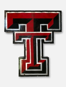 Texas Tech Double T Metal Wall Decor