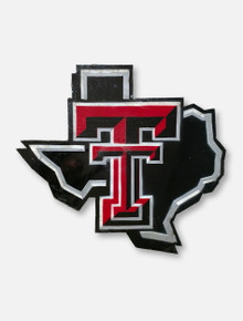 Texas Tech Red Raiders Lonestar Pride Logo Metal Wall Decor