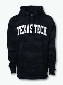 Texas Tech Red Raiders Camo Arch Hoodie