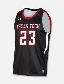 Black Texas Tech Basketball Jersey