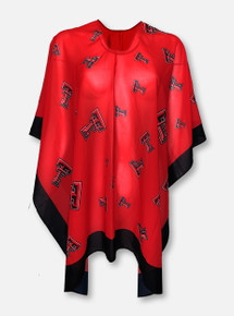 Emerson Street Texas Tech Red Raiders Repeating Double T Poncho