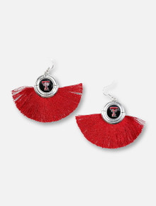 "Texas Tech Red Raiders ""No Strings Attached"" Tassle Earrings"