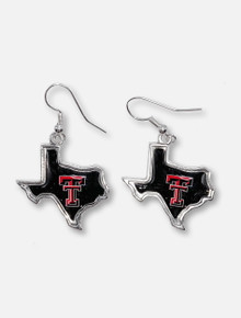 """Texas Tech Red Raiders """"State of Mine"""" Earrings"""