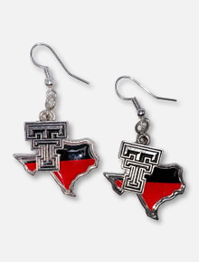 "Texas Tech Red Raiders ""Tara"" Earrings"