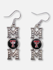 "Texas Tech Red Raiders ""MOM"" Earrings"