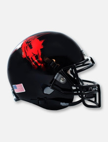 Schutt Texas Tech Red Raiders Metallic Masked Rider Mini Helmet