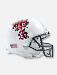 Schutt Texas Tech Red Raiders Metallic Double T Mini Helmet