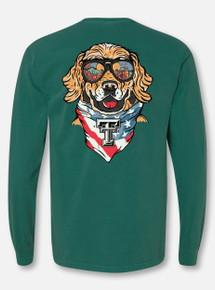 "Texas Tech Red Raiders ""Dog Gone Good"" Blue Spruce Long Sleeve T-Shirt"