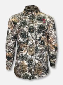 Game Guard Texas Tech Double T Full Zip Fleece-Lined Canvas Jacket