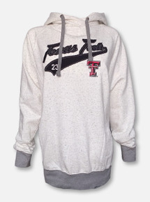 """Red Raider Outfitter Texas Tech Double T """"Fleck"""" Oatmeal Hoodie"""