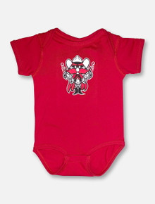 Texas Tech INFANT Raider Red Onesie In Red