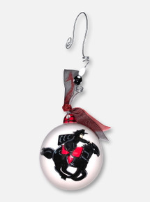 Texas Tech Red Raiders Glory Haus Masked Rider Ball Ornament
