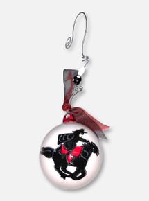 Texas Tech Red Raiders Glory Haus Masked Rider Ball Ornament
