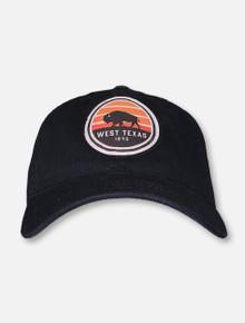 Legacy Texas Tech Red Raiders West Texas 1845 Black Buffalo Adjustable Cap