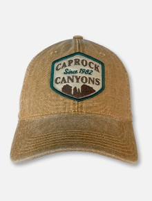 Legacy Texas Tech Red Raiders Camel Caprock Canyons Canvas Adjustable Cap