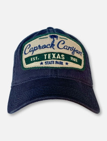 Legacy Texas Tech Red Raiders Navy Caprock Canyons Adjustable Cap