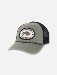 Legacy Texas Tech Red Raiders Cotton Capital Olive Structured Trucker Snapback Cap