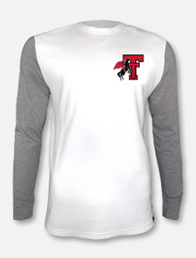"Under Armour Texas Tech Red Raiders ""Traditions"" Waffle Raglan Crew"