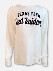 "Pressbox Texas Tech Red Raiders ""Pasadena"" Ivory French Terry Pullover"