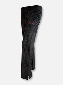 "Emerson Street Texas Tech Red Raiders ""Eden"" Women's Black Velvet Pants"