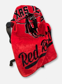Texas Tech Red Raiders Royal Plush Raschel Throw