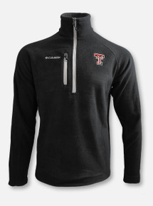 "Columbia Texas Tech Red Raiders Double T ""Fast Trek III"" Half Zip Fleece Pullover"