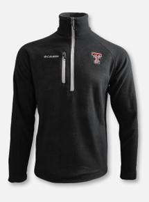 """Columbia Texas Tech Red Raiders Double T """"Fast Trek III"""" Half Zip Fleece Pullover"""
