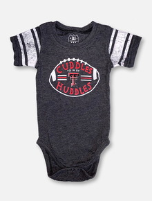 "Wes & Willy Texas Tech Red Raiders INFANT ""Cuddles And Huddles"" Onesie"