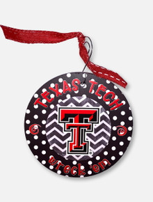 Texas Tech Red Raiders Chevron Wreck 'Em Ornament