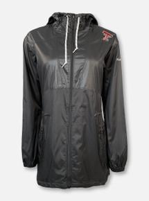 "Columbia Texas Tech Red Raiders Double T ""Flashback"" Women's Black Windbreaker Jacket"