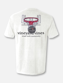 "Vineyard Vines Texas Tech Red Raiders Double T ""Nothing But Net"" T-Shirt"