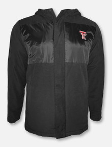 """Under Armour Texas Tech Red Raiders """"Mammoth Puffer"""" Sherpa Full Zip Jacket With Hood"""