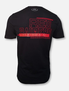 "Under Armour Texas Tech Red Raiders Basketball ""Hype Bar"" Black Short Sleeve T-Shirt"